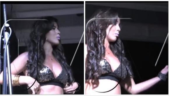 Yahaira Plasencia hizo tremenda pataleta en pleno concierto en ¡Milano! (VIDEO)