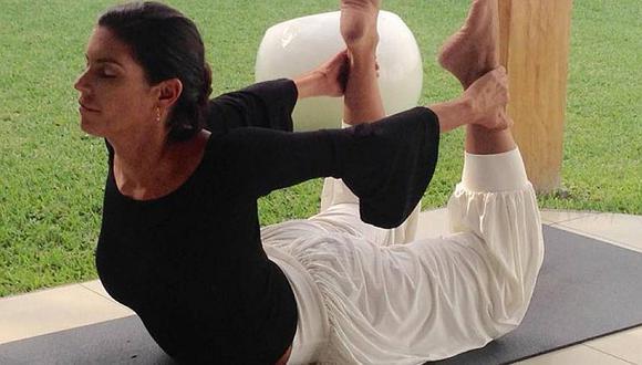 Conoce los beneficios del yoga que practica Andrea Montenegro