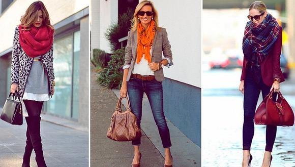 4 maneras de llevar pashminas con estilo