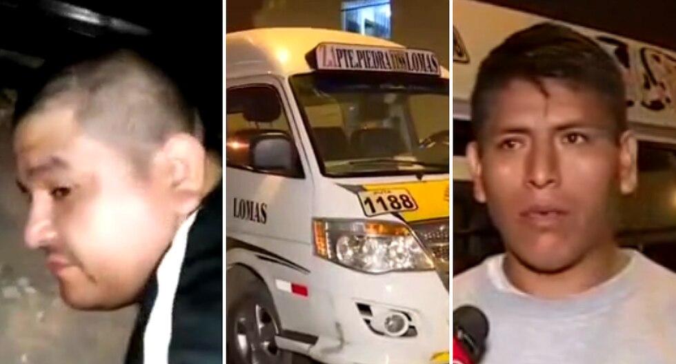 Delincuentes se roban combi pero dueño los alcanza y son capturados (VIDEO)