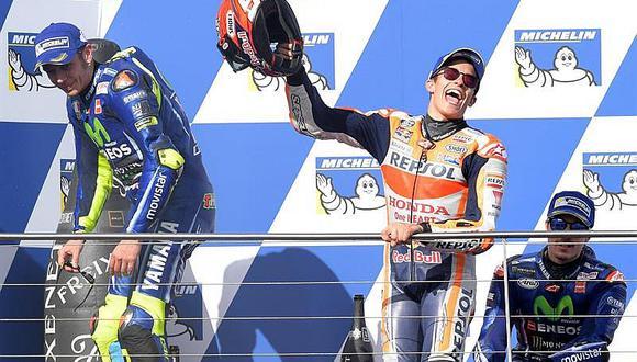 MotoGP: Márquez gana en carrera de locura y mundial está muy cerca (VIDEO)