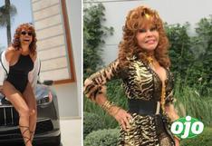 Magaly Medina publica sensual fotografía, pero usuarios la comparan con La Tigresa del Oriente