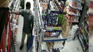 Capturan a sujeto que robaba conservas de atún en minimarkets de Surco