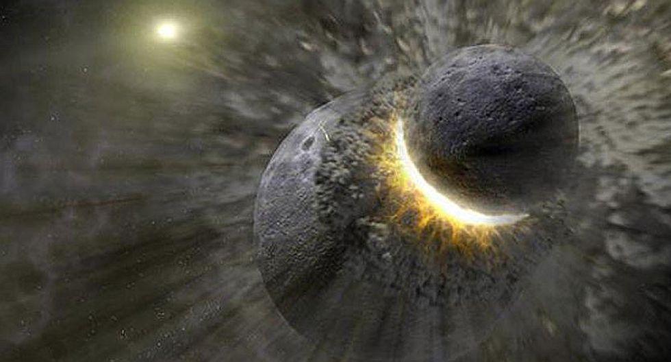 Carbono de la Tierra podría haber surgido tras colisión con un planeta