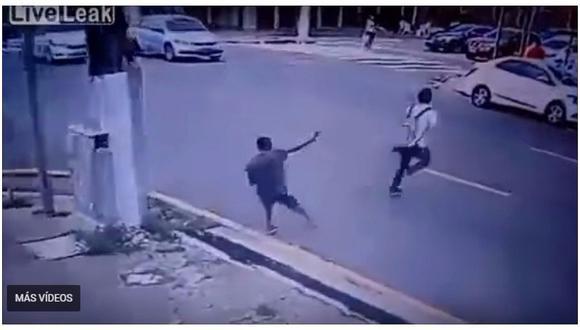 Brasil: estudiante no se dejó robar y ¡lo mataron de un balazo en la cabeza!