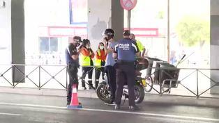 Amplían restricciones de movilidad en Madrid