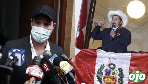 George  Forsyth se reúne con Pedro Castillo aclara si será su ministro