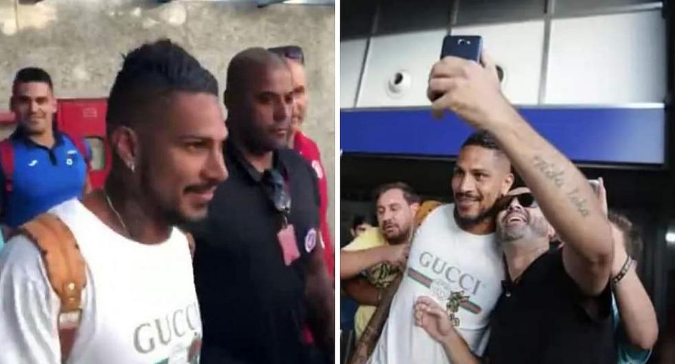 Paolo Guerrero aterriza en Brasil para entrenarse con Internacional