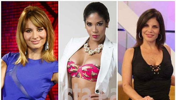 ¡Olenka Zimmermann, Karen Dejo y Sandra Arana también se apuntan a los looks con cuero! [FOTOS]