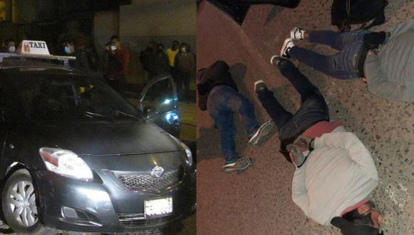 Tacna: atrapan a cuatro robacasas en persecución con balacera durante cuarentena
