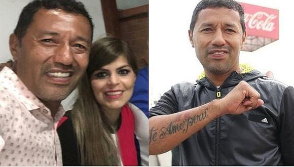 Roberto 'Chorri' Palacios se convierte en padre a los 46 años (FOTOS)