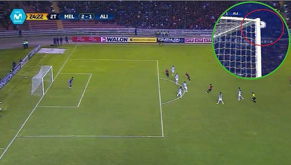 Alianza Lima vs. Melgar: árbitro no cobró el gol de Christofer Gonzales (VIDEO)
