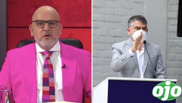Julio Guzmán retomó su intención de debatir con otros aspirantes a la Presidencia de la República en el marco de las Elecciones Generales 2021. (Foto: GEC) | Captura/Willax Tv)