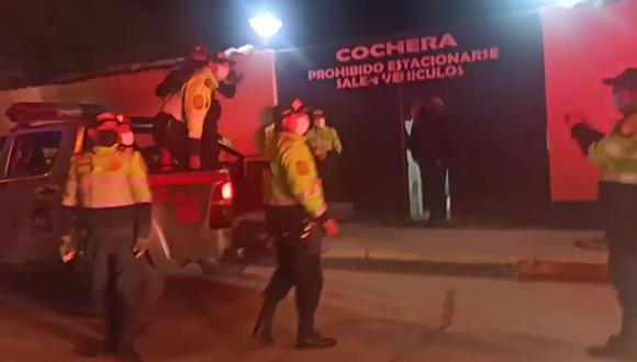 El cadáver de la adolescente fue internado esta noche en la morgue de la ciudad. (Foto: PNP)