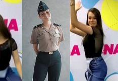 El nuevo reto viral que hizo la suboficial PNP Jossmery Toledo en Tik Tok│VIDEO