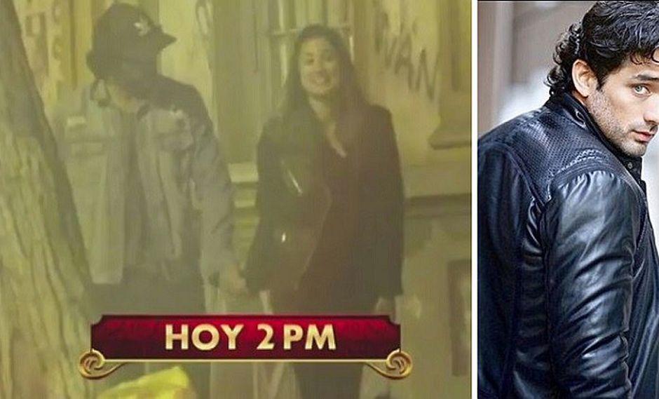 Pablo Heredia se olvida de Alessandra Fuller y besa apasionadamente en público con otra chica (VIDEO)