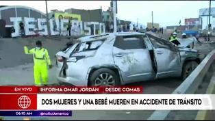 Conductor choca contra puesto de anticuchos y mata a dos mujeres y una bebé en Comas