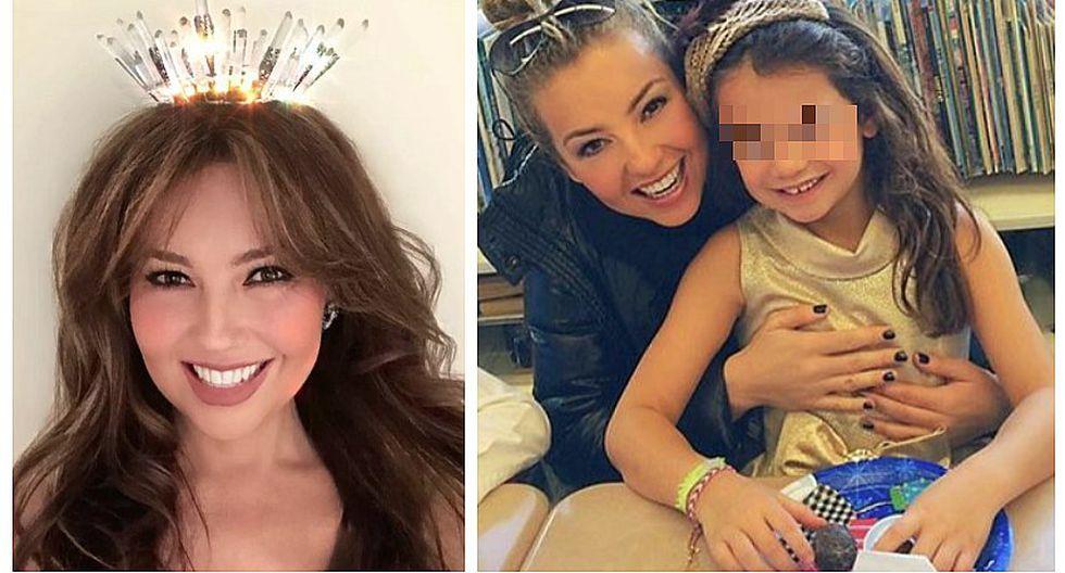 Hija de Thalía sueña con su quinceañero y ya sabe cómo lo quiere