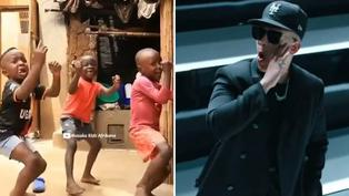 Niños africanos hacen coreografía de 'Problema' de Daddy Yankee