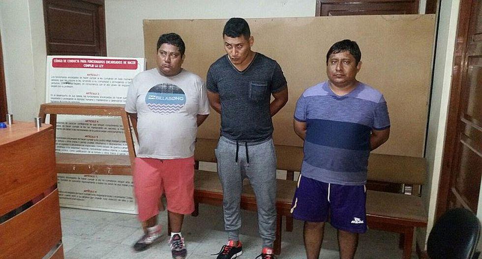 VES: Capturan a tres marcas que robaron S/. 15 mil a empresario