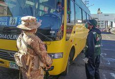 30 inspectores de transporte de la municipalidad provincial de Arequipa dan positivo a COVID-19