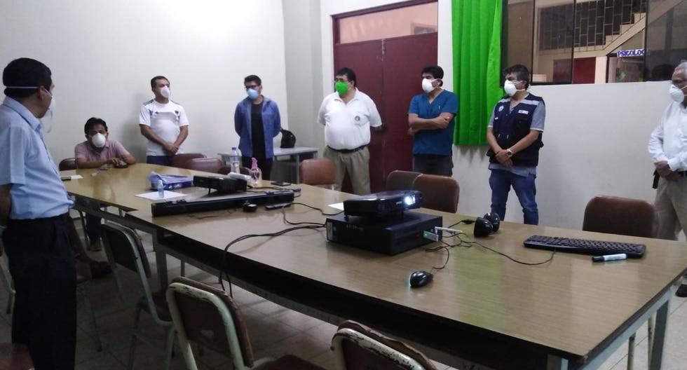 El gobernador de Lambayeque, Anselmo Lozano, negó que haya una renuncia o despido masivo de personal médico en la región. (Foto: Geresa Lambayeque)