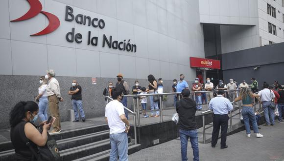 Banco de la Nación. (Foto: Britanie Arroyo / GEC)