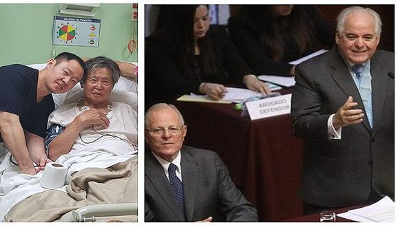 Alberto Borea, quien defendió a PPK, rechazó el indulto a Alberto Fujimori