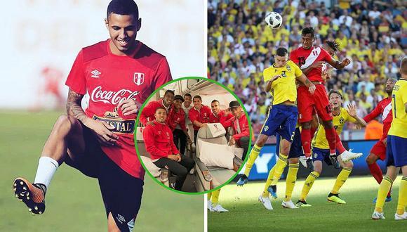 Sergio Peña y el mensaje para sus excompañeros antes del Perú vs. Suecia (FOTO)