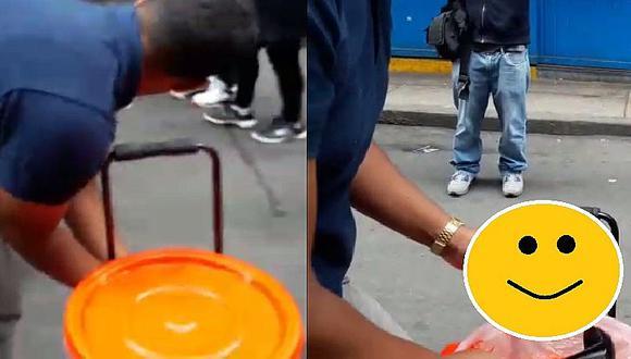 """Venezolanos en Perú la hacen linda con la refrescante """"tizana"""" (VIDEO)"""