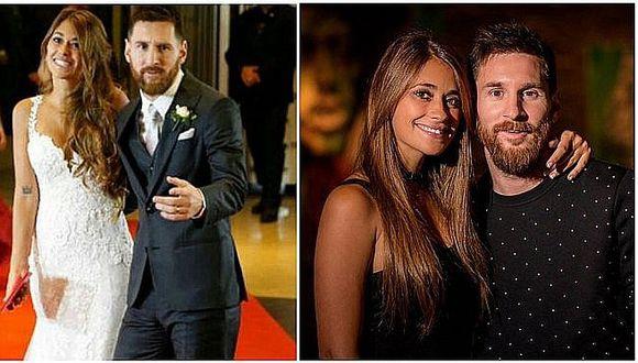 La boda de Messi y Antonela: no todo es felicidad para los esposos