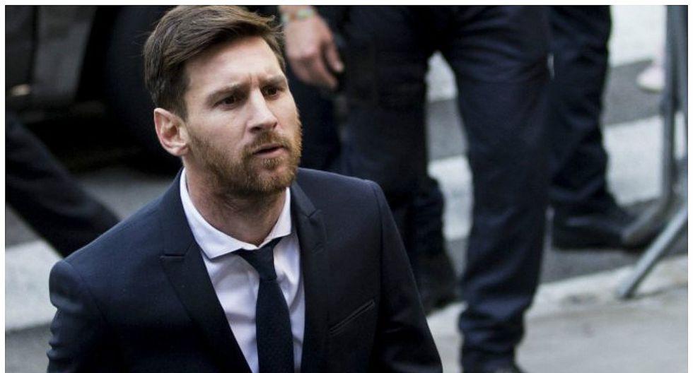 Lionel Messi apelará su condenada de 21 meses de prisión