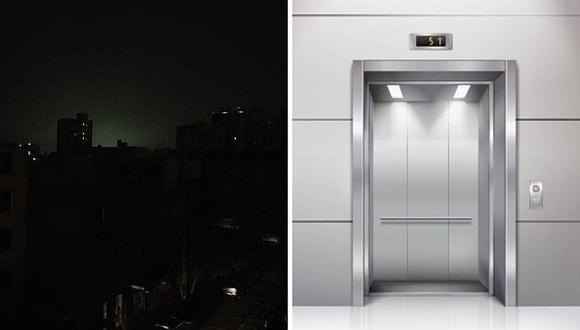 Apagón en Lima y Callao: personas quedan atrapadas en ascensores tras corte de energía eléctrica