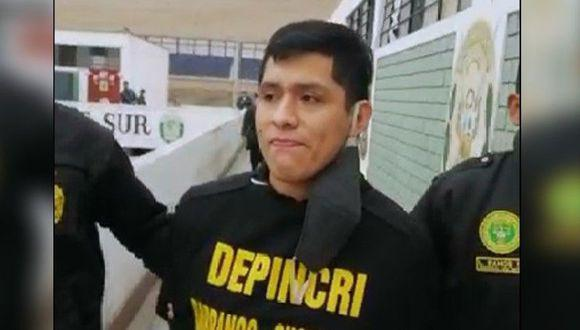 'Kevin Yi' fue capturado por agentes de la Depincri Chorrillos. (PNP)