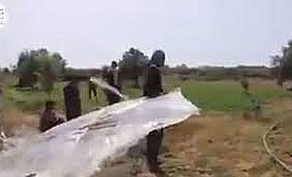 Palestinos vuelan cometas con bombas molotov para incendiar Israel
