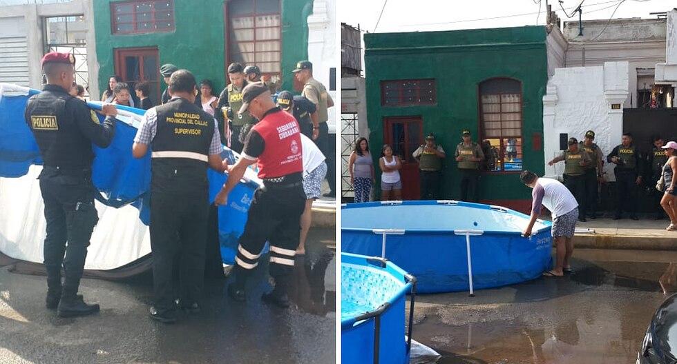 Municipalidad decomisa piscinas en zona 'brava' del Callao