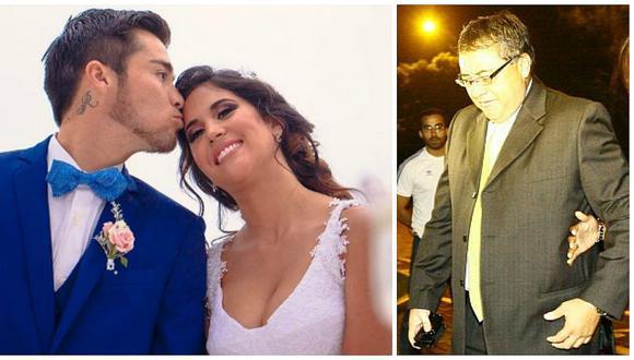 Jorge Cuba y su reacción cuando se enteró de la boda de su hijo y Melissa Paredes