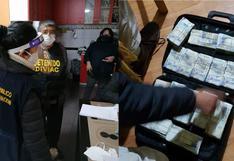 Junín: revelan modus operandi de organización criminal que guardaba medio millón de soles en maletas