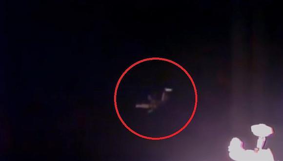 YouTube: OVNI con curioso aspecto es captado durante trasmisión de la NASA [VIDEO]
