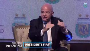 """Gianni Infantino: """"Sería fantástico pensar en un Mundial en Sudamérica"""""""