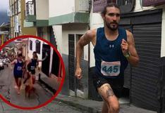 YouTube: atleta pateó a perro en plena carrera y empresa le quitó auspicio | VIDEO