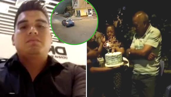 Abuelito celebró su cumpleaños y luego fue atropellado por sujeto (VIDEO)