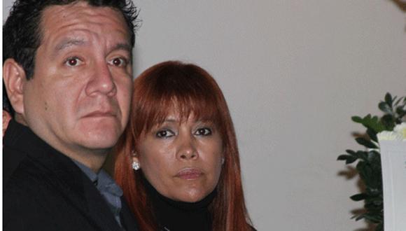 Ney Guerrero dio último adió a su padre acompañado de Magaly y Érika