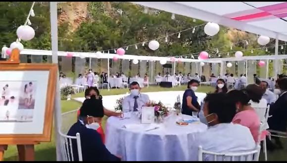 Huánuco: Matrimonio donde habían unas 80 personas no se concluyó por intervención de la PNP   VIDEO (Canal N)