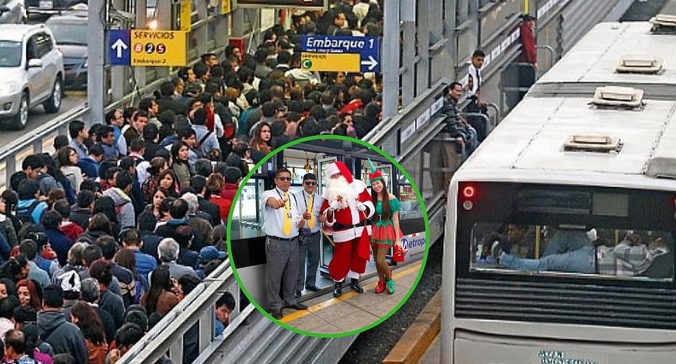 Conoce el horario del Metropolitano para esta Navidad 2018 (FOTO)