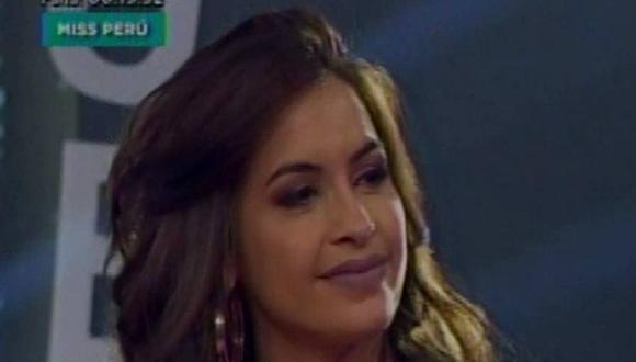 """Milett Figueroa afirma que solo tuvo una amistad con """"Nacho"""""""