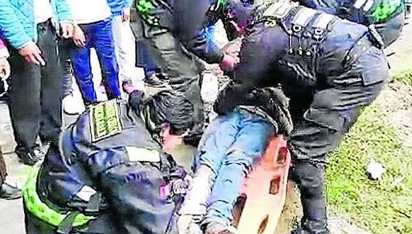Huancayo: intentó escapar de su casa para beber alcohol pero cae desde el tercer piso