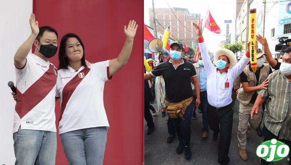 Pedro Castillo y Keiko Fujimori firman la 'Proclama Ciudadana'