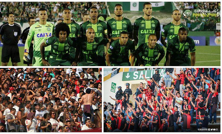 ¡Atención!: hinchas preparan este homenaje al Chapecoense en el Estadio Nacional