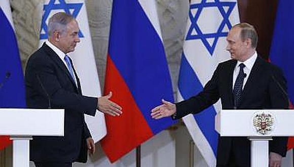 Netanyahu y Putin conversan sobre seguridad regional y Siria